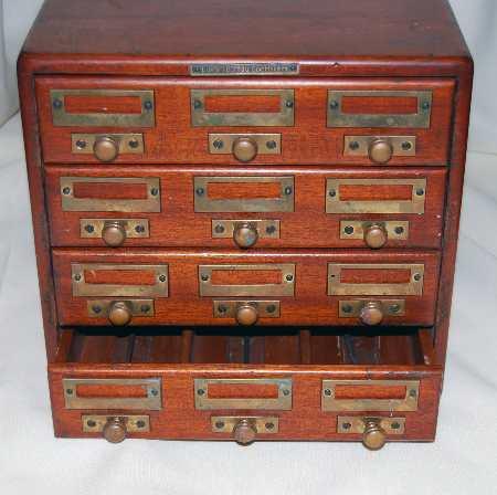 Card Catalog Cabinets
